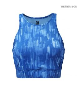 Better Bodies Manhattan Halter Top Bright Blue