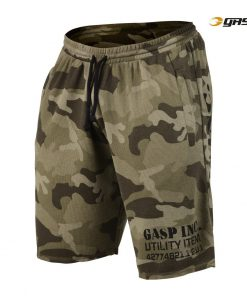 Gasp Thermal Shorts Green Camoprint