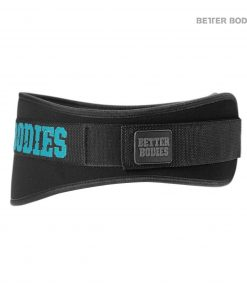 Gym Belt Black aqua