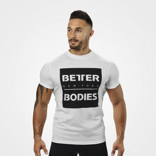 Better Bodies Casual Tee White