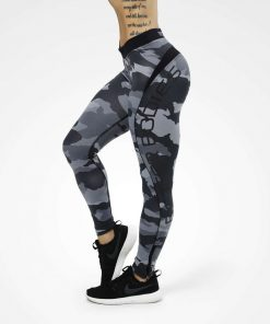 Long Tights Grey Camo