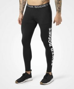 Men Logo Tights Black