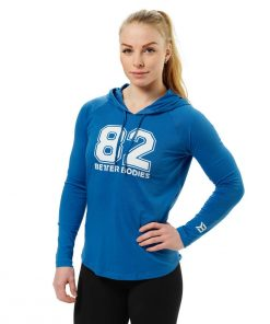 Better Bodies Varsity Hoodie Bright Blue