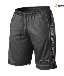 Gasp No1 Mesh Shorts Black