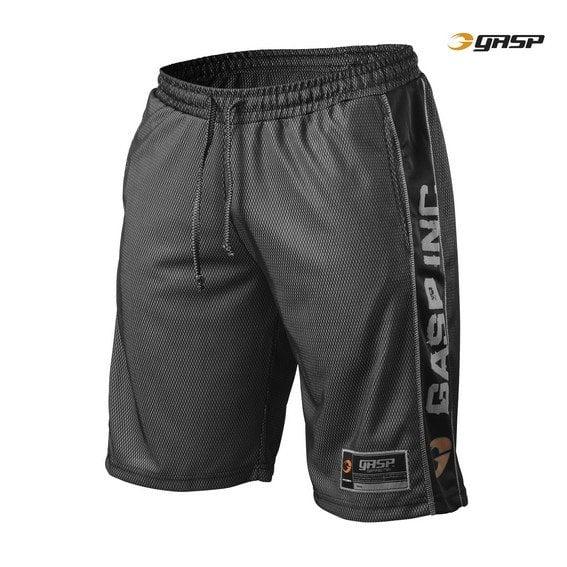 Gasp No1 Mesh Shorts Black