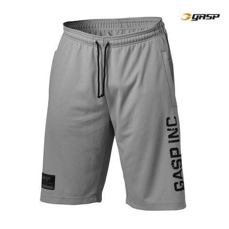 Gasp No.89 Mesh Shorts Light Grey