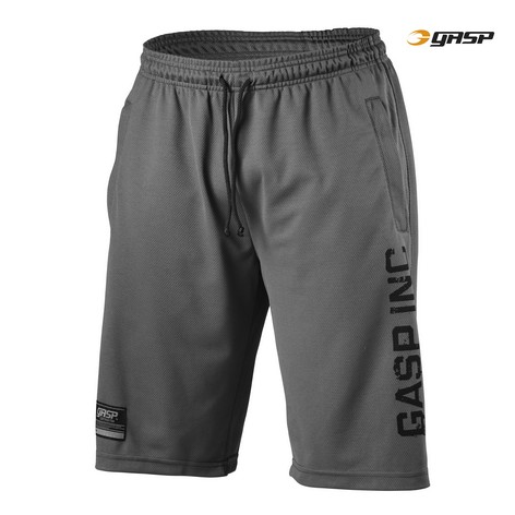 No.89 Mesh Shorts Grey