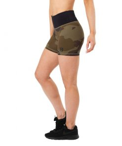 Chelsea Hotpants Green Camo