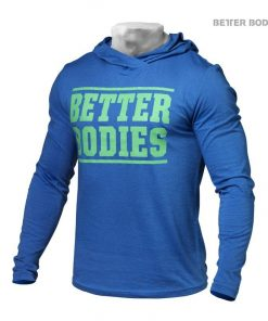 Better Bodies Men Soft Hoodie Bright Blue