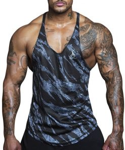 RYDERWEAR SAVAGE MESH T - BACK - BLACK MARLE