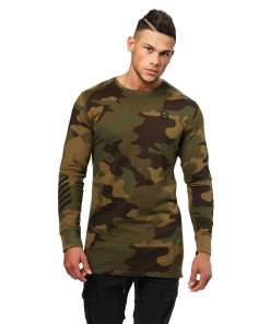 Bronx Longsleeve Military Camo