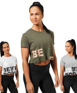 Better Bodies Womens Astoria Cropped Tee