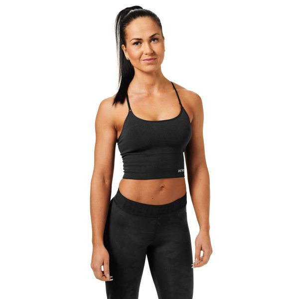 NEW - BETTER BODIES ASTORIA SEAMLESS SHORT TOP BRA