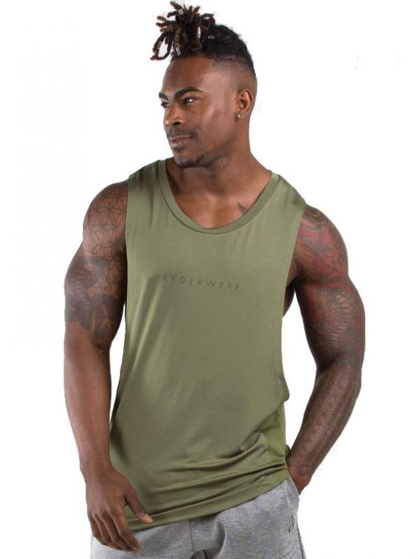 Ryderwear Outlaw Tank Khaki