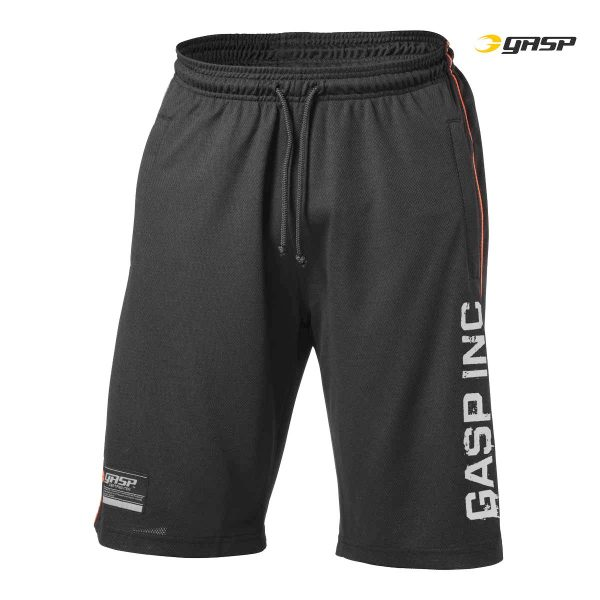 No.89 Mesh Shorts Black
