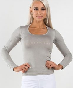 Ryderwear Highway Long Sleeves Top Grey