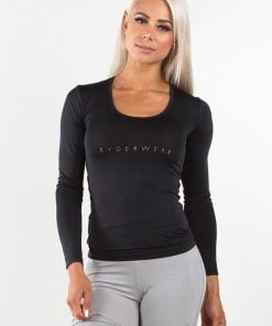 Ryderwear Highway Long Sleeves Top - Black