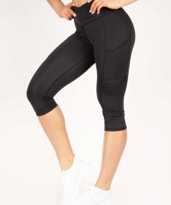 Flex Capri Leggings Black