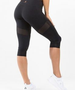Renegade Capri Leggings Black