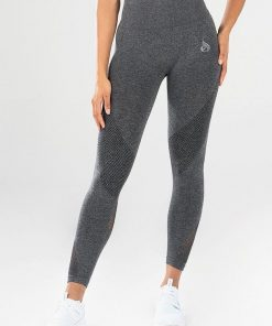 Ryderwear Seamless Tights Charcoal Marle
