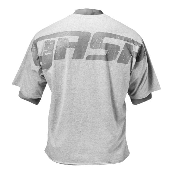 NEW - GASP IRON TEE, WHITE