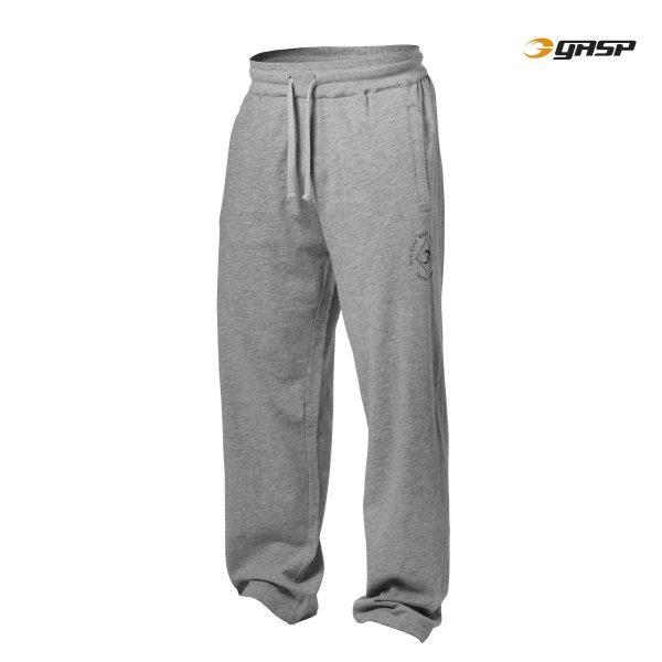 NEW - GASP SWEAT PANTS, GREYMELANGE