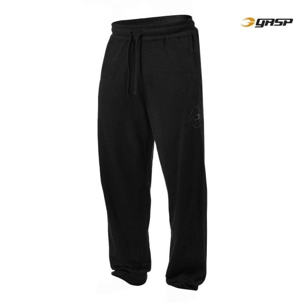 NEW - GASP SWEAT PANTS, BLACK