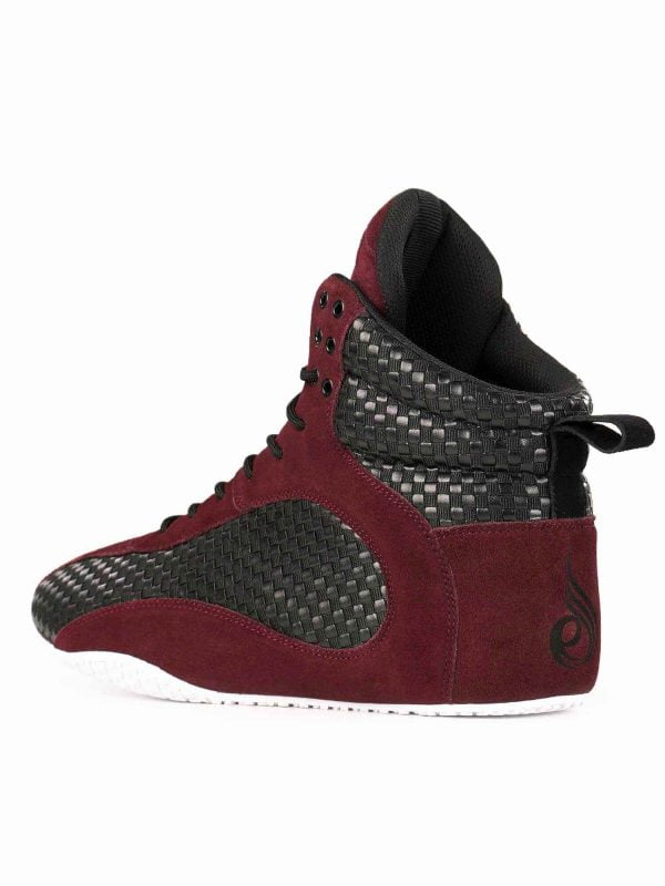 NEW - RYDERWEAR D-MAK CARBON/UNISEX - BURGUNDY
