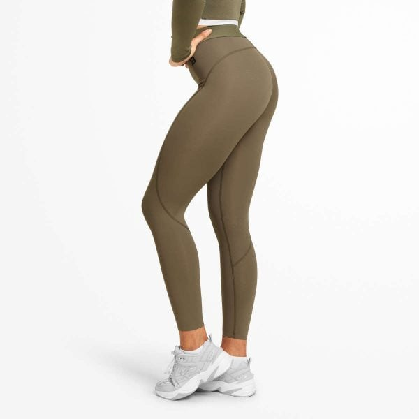 NEW - Better Bodies Highbridge Tights - Wash Green