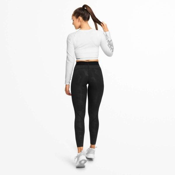 NEW - Better Bodies Highbridge Tights - Black Camo