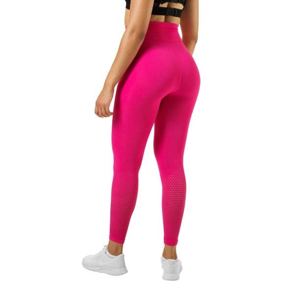 NEW - Better Bodies Bowery High Tights, Hot Pink