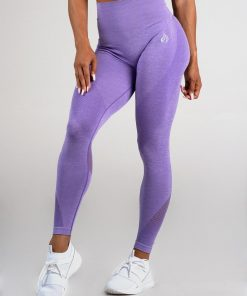 Ryderwear Seamless Tights Purple Marle