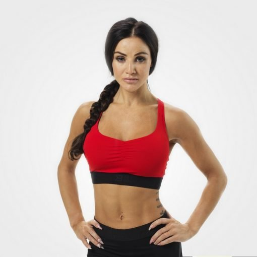 Better Bodies Athlete Short Top red