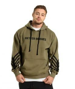 Better Bodies Fulton Hoodie Wash Green