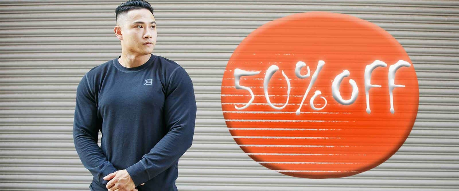 Gym Apparel 50%Off at Our Outlet