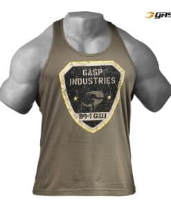 Gym T-Back Wash Green