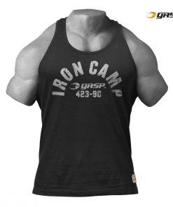 GASP Throwback Tank black