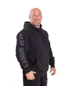 GASP Logo hoodie Black